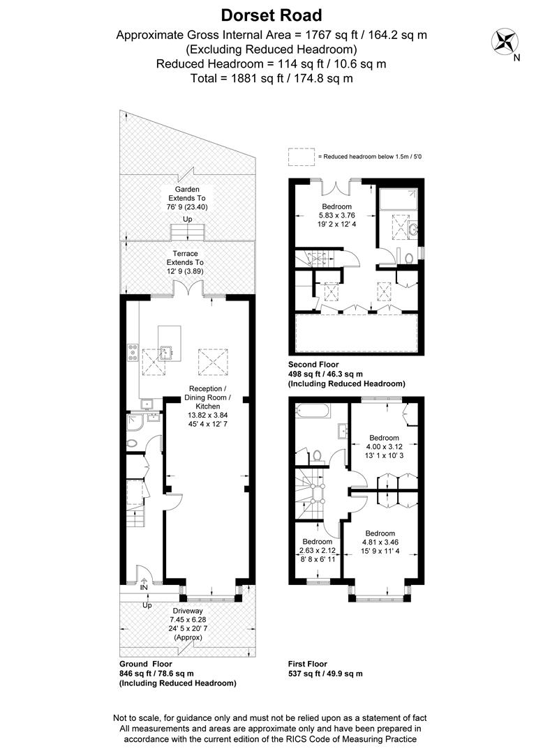Floorplan for Dorset Road, Merton Park